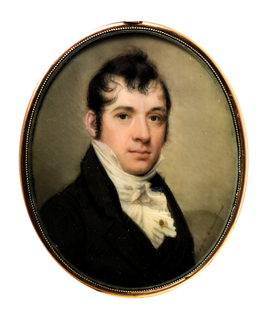 Portrait of a Gentleman by William M. S. Doyle, 1810