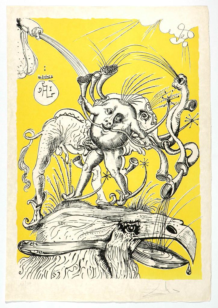 Salvador Dali - Pantagruel 4 (1974)