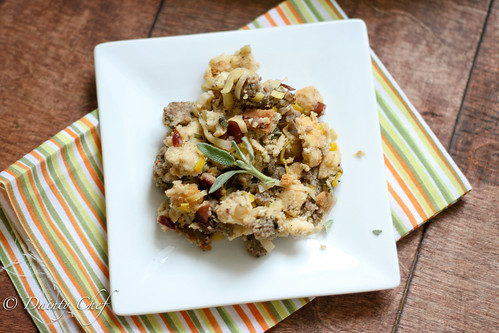 Sausage, Cranberry, & Apple Stuffing