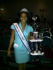 National American Miss National Casual Wear Winner Taccara Barrier