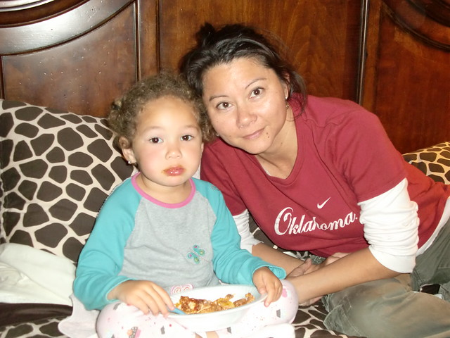 Aubri and Mommy