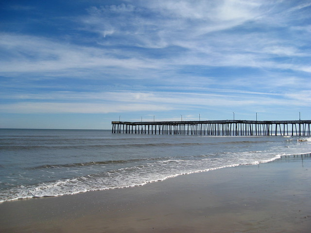 Virginia beach fishing pier flickr photo sharing for Fishing piers in va