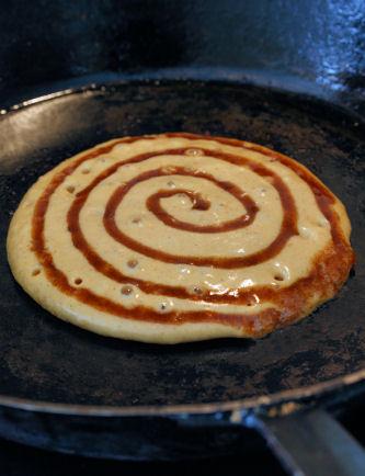 Pumpkin Cinnamon Roll Pancakes 3427 R