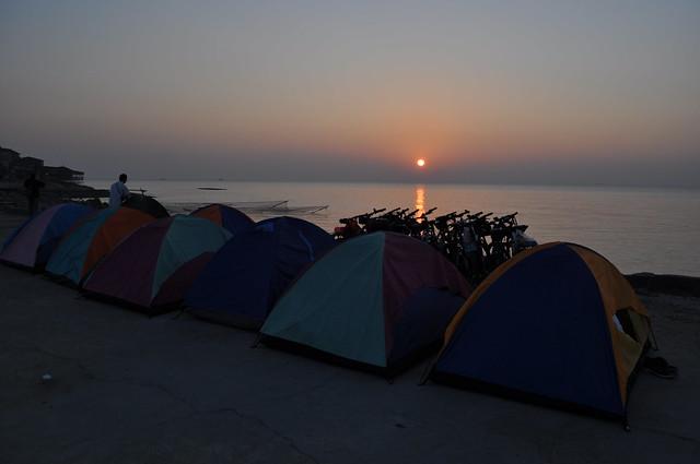 淇澳岛上的日出