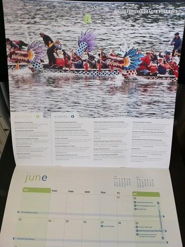 2012 Portland Event Calendar