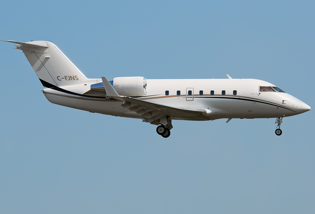 C-FJNS - CL60 - Not Available