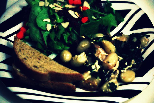 gnocchi and chard