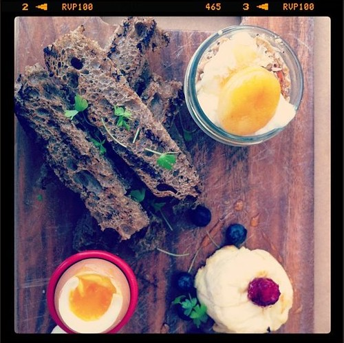 Breakfast at Orto Trading Co., Surry Hills