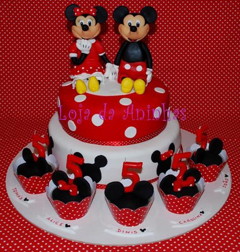 Bolo Mickey Minnie by Aninhas_lisboa