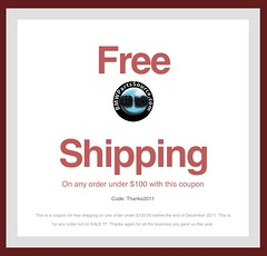 Free Shipping in December from bmwpartssource.com (Faulkner BMW) | code Thanks2011