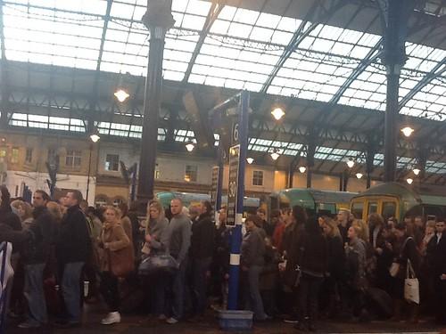 Brighton station.