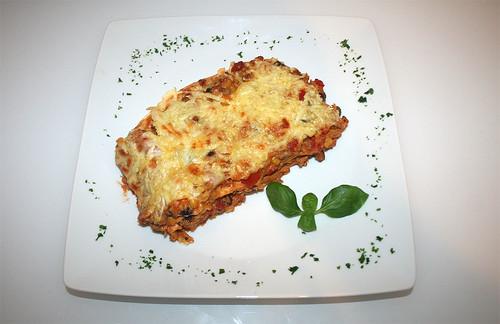 42 - Tortilla-Lasagne - Serviert