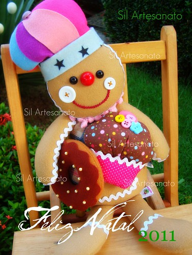 Gingerbread by Sil Artesanato