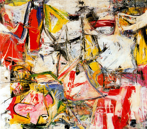 Willem De Kooning, Gotham News, oil on canvas, 1955 by dou_ble_you