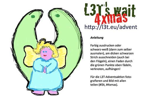 Schmuck im Adent: Ein L3T-Engerl ...