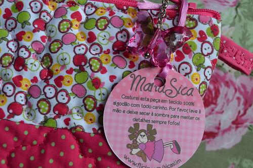 Necessaire mini maçãs... by Maria Sica