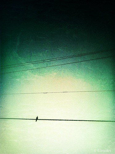 Alone (International iPhoneography Show) by elineart