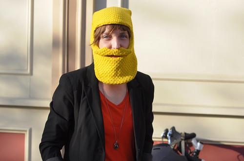 Mustachio'ed Bikeyface