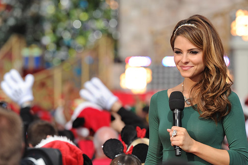MARIA MENOUNOS STARS IN DISNEY PARKS CHRISTMAS DAY PARADE TV SPECIAL