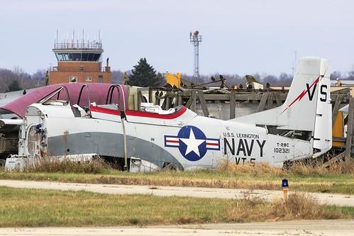 North American Trojan T-28C (102321)