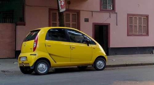 Tata Nano by Debarshi Ray