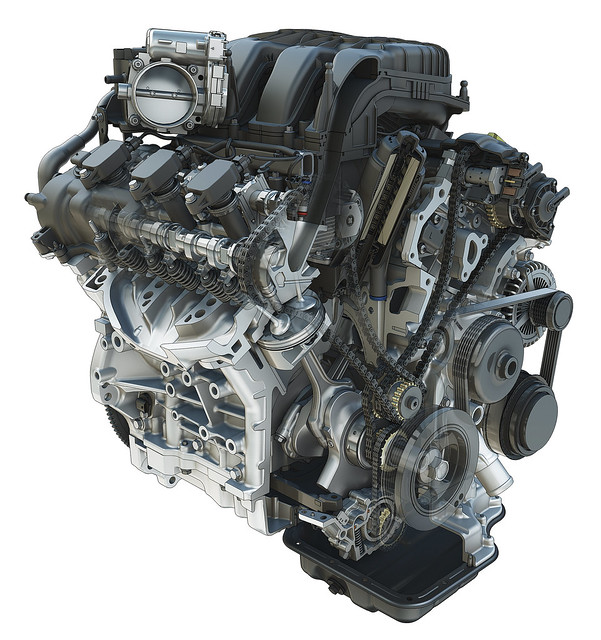 3 6l Pentastar Dohc V 6 Engine Flickr Photo Sharing