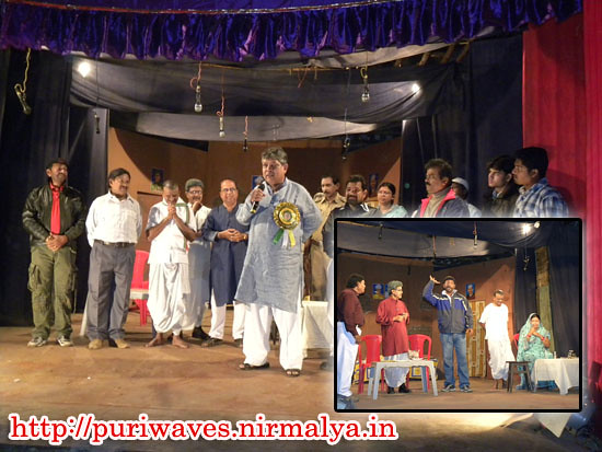 ' Asanta  Arjuna ' staged at Annapurna Theatre, Puri