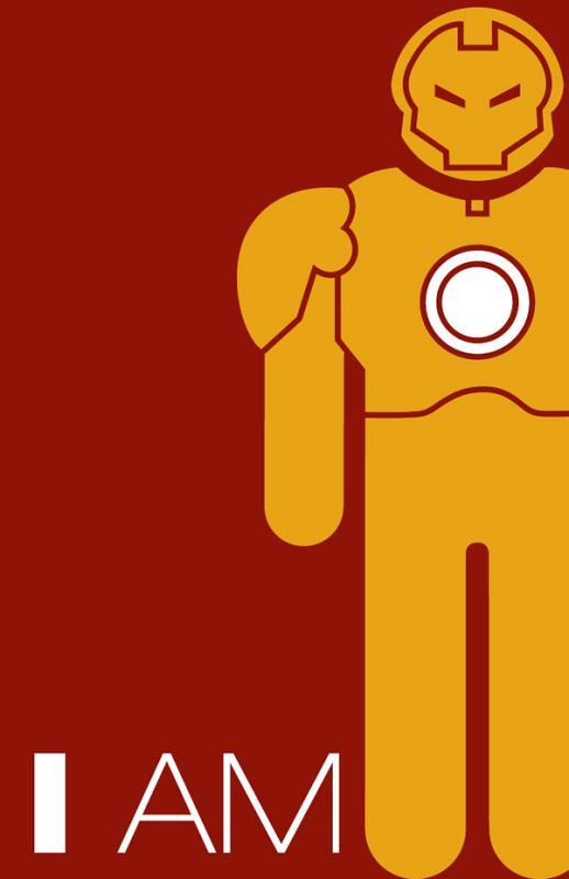 Super-Heróis e suas frases 2 homem de ferro iron man