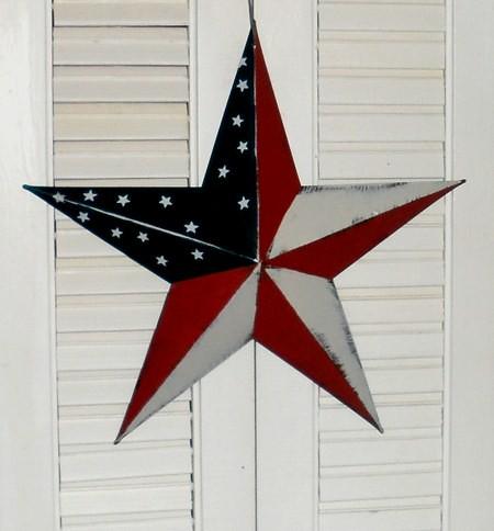 americana metal star flag wall decor flickr photo sharing