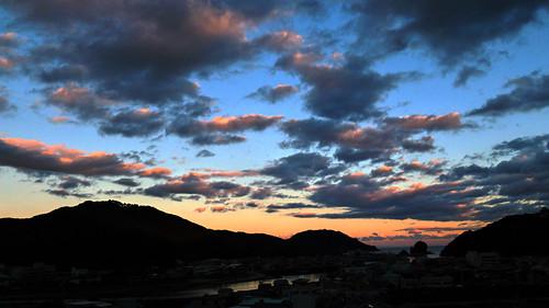 geotagged panasonic 夕景 徳島 lx5 tokusima 薬王寺 geo:lat=33732151533389775 geo:lon=13452780145499173