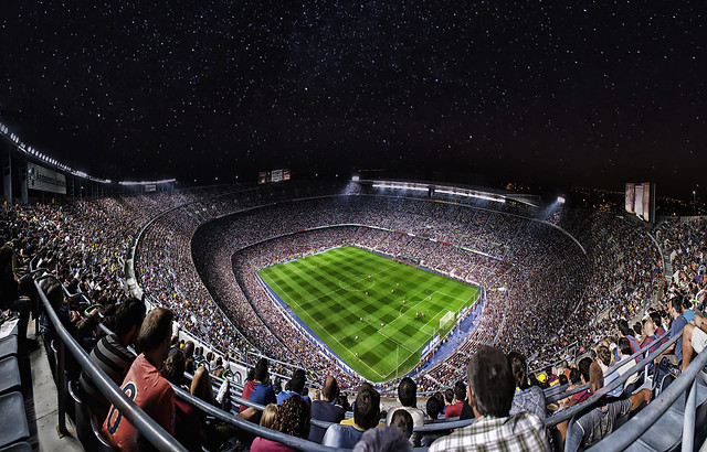 Camp Nou - 3rd version (43 Megapixels)