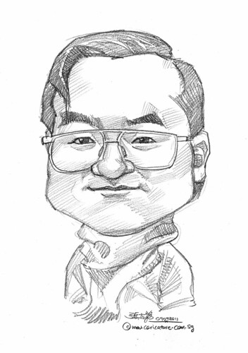 caricature in pencil - 09092011 - 2
