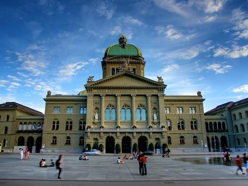Bundeshaus Bern HDR