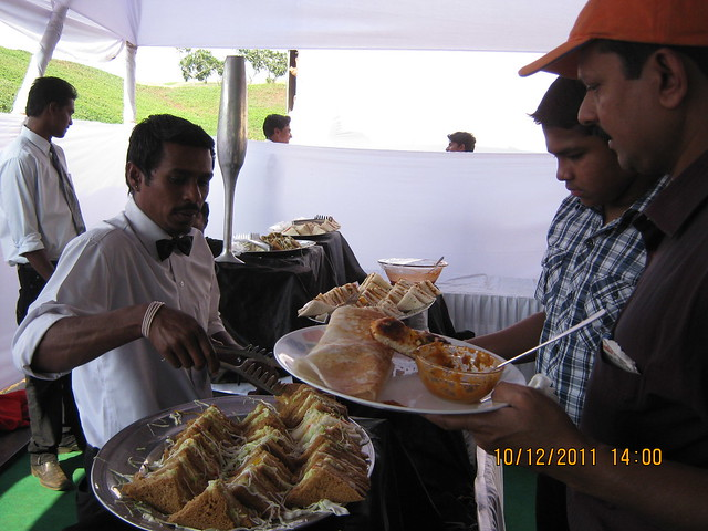 Sandwiches at the food court of  Kolte-Patil Life Republic, Marunji - Hinjewadi, Pune 411 057