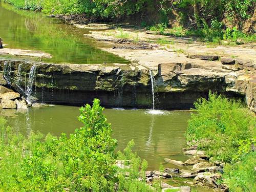 summer water waterfall kansas geology smalltown elkriver elkfalls