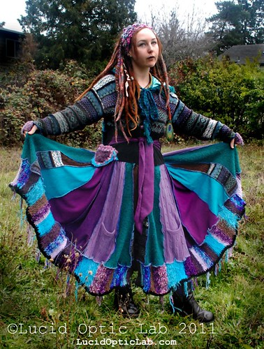 Faery sweater coat