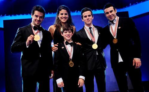 Protagonismo español en la gala FIM 2011