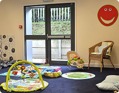 Creche for Babies - showing some sensory areas