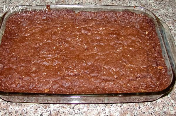 caramel-brownies