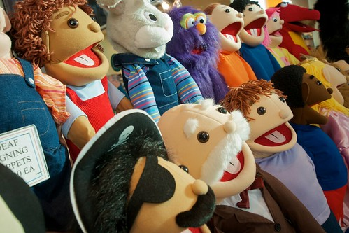 The puppet choir