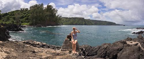 Keanae peninsula, Maui, Hawai'i (panorama)