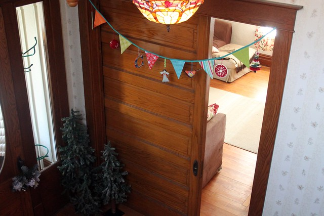 Christmas Bunting Garland