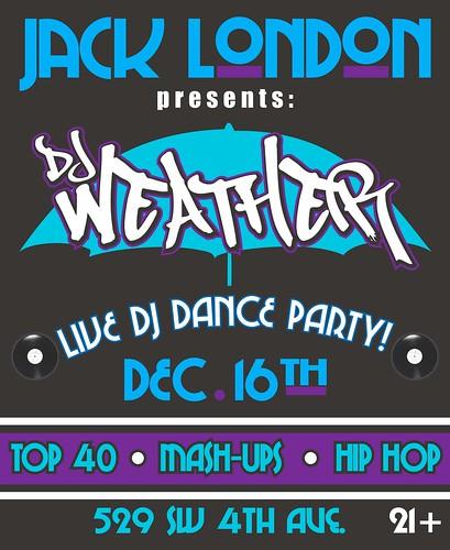 DJ Weather @ Jack London Bar
