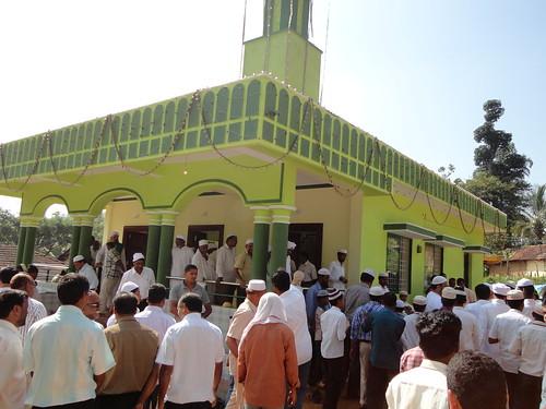 افتتاح مسجد