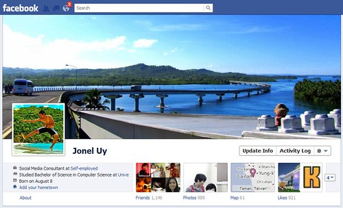 Facebook Profile Timeline
