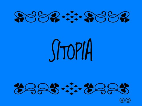 Buzzword Bingo: Sitopia = food-place, as opposed to utopia ('good place', or 'no place') @carolynsteel