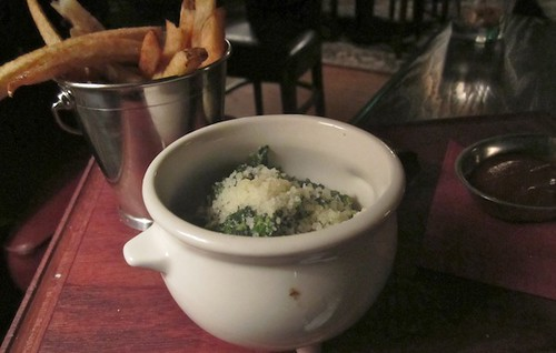 Creamed spinach, Saloon, Somerville