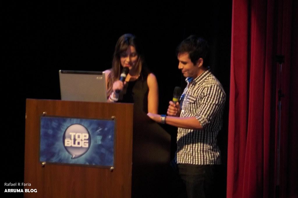 FOTO: Apresentadores do evento TopBlog 2011