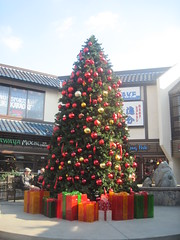 Christmas tree in Little Tokyo