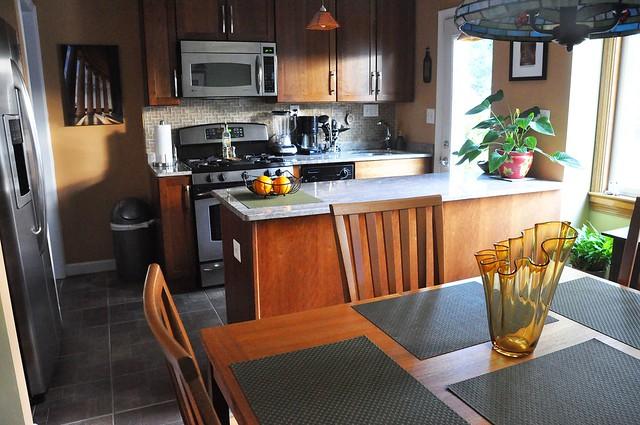 1950s galley kitchen renovation